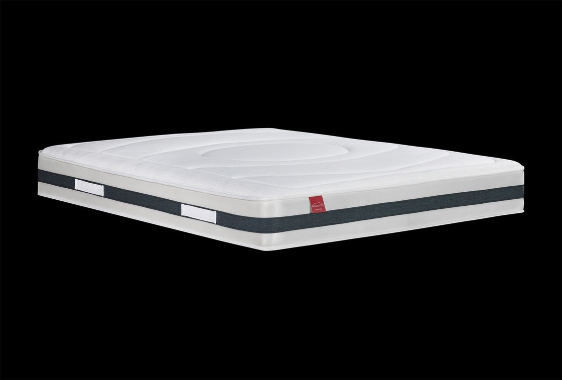 Luxury Spring Memory Foam Mattress , Bed Memory Foam Coil Mattress