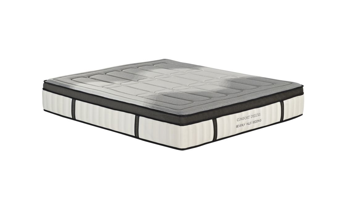 Compressed Micro - Pocket Spring Foam Mattress With Encasement