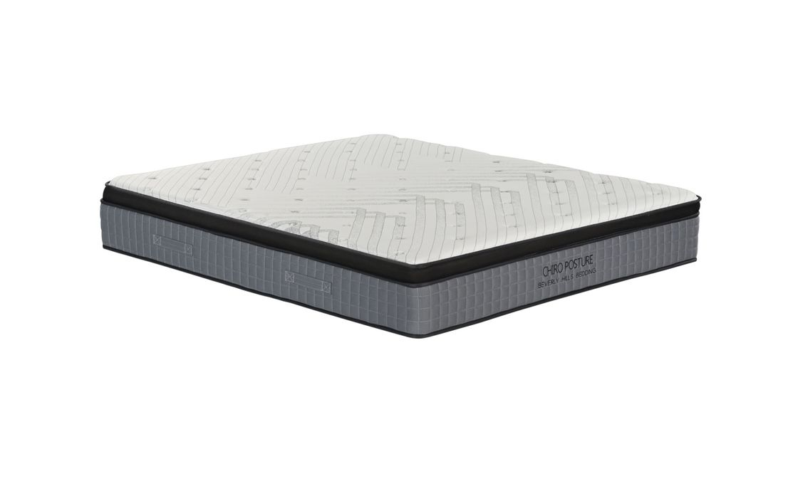 Knitted Pattern 5 Zone Spring Foam Mattress With 10 Years Warranty